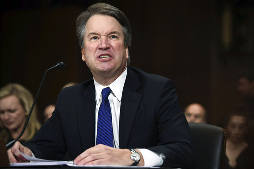 APTOPIX Supreme Court Kavanaugh